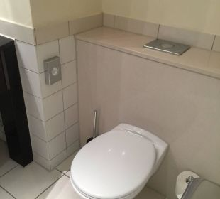 Toilette Hotel Dorint an der Messe Köln