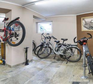 Fahrradkeller Vital Hotel Zum Ritter