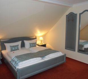 Suite Schlafzimmer Gästehaus Linde