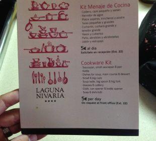 Geschirr kostet extra!!
