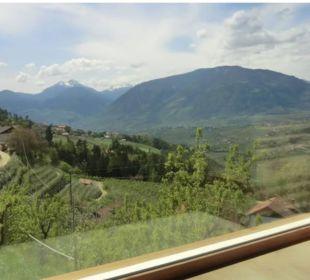 Ausblick aus der Panoramasauna Hotel Panorama