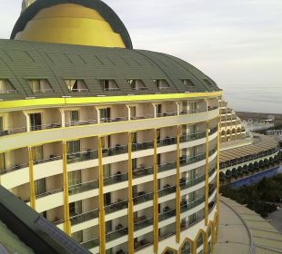 Blick von unserem Balkon Hotel Delphin Imperial