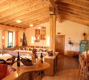 Restaurant mit Bar und Kachelofen Hotel Zistelberghof