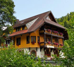 Außenansicht Hotel Gasthaus Hirschen