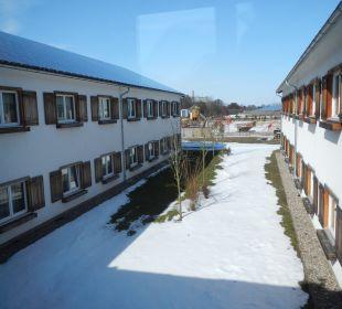 Hotelinnenhof alpincenter & van der Valk Hotel Wittenburg