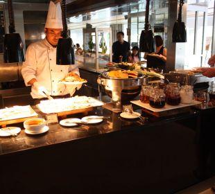 Eier, Pancakes usw. Pathumwan Princess Hotel