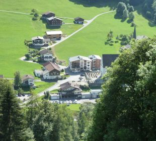 Blick auf das Hotel Hotel Silbertal