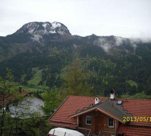 Der Blick vom Balkon Schwandenhof Ferienwohnungen
