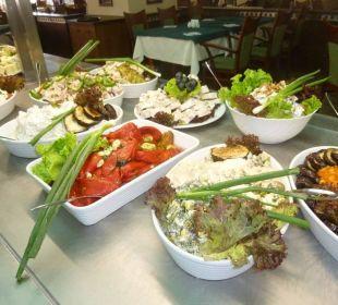 Salatbüffet Hotel Lilia