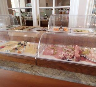 Wurst und Käsevitrine Hotel Panhans