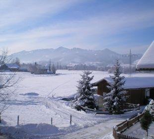Ein Blick aus dem Fenster Mein Landhaus