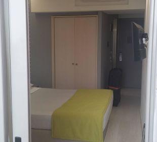 Zimmer mit Klimaanlage (sehr leise)  Smartline Semiramis City Hotel