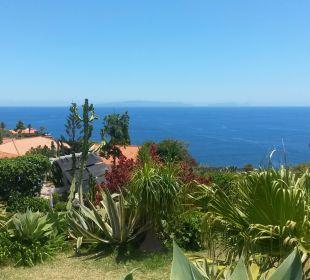 Ausblick aus dem Garten Villa Opuntia
