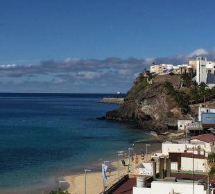 Sicht auf Morro Jable Hotel XQ El Palacete