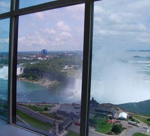 Ausblick aus unserem Zimmer The Tower Hotel