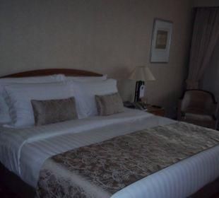 Kingsize-Bett Kempinski Hotel Beijing Lufthansa Center