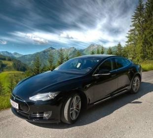 Teslavermietung  Edelweiss Grossarl - Der Stern in den Alpen