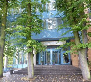 Haupteingang des Hotels Comfort Hotel Weißensee