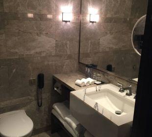 WC und Waschbecken InterContinental Hotel Grand Stanford Hong Kong