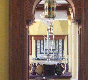 Eingang zum orientalischen Cafe im Hotel Hotel Mövenpick Resort & Marine Spa Sousse