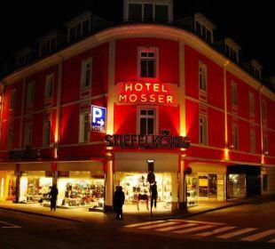Außenansicht Hotel Mosser