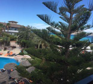 Seitlicher Meerblick (ist in wirklichkeit besser) allsun Hotel Eden Playa