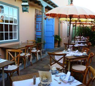 Außenterrasse Hotel Hacienda de Abajo