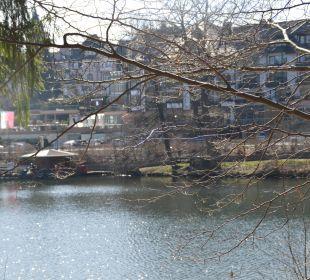 Blick über den See  Romantischer Winkel SPA & Wellness Resort