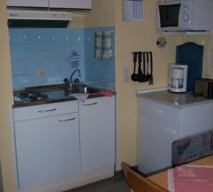 Kitchenette mit perfekter Ausstattung Schatzberg-Haus