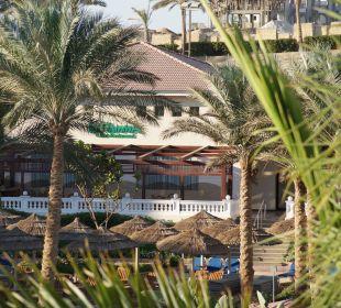 Blick aufs Restaurant Hotel Tropicana Azure Club