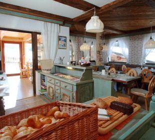 Frühstücksbuffet Hotel Landhaus Edelweiss