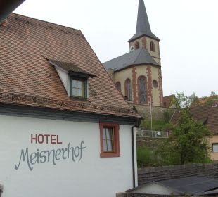 Ausblick Hotel Meisnerhof