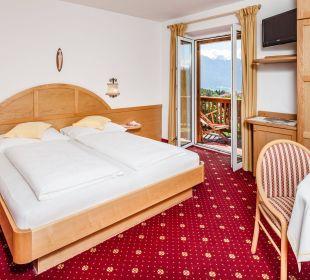Zimmer 15 mit Dolomitenblick  Hotel Lichtenstern