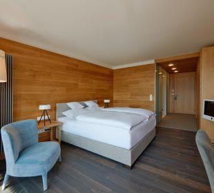 Doppelzimmer im alpinen Stil Hotel Allgäu Sonne