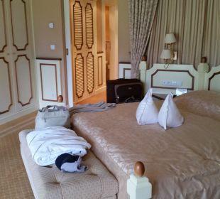 Nochmal das Bett Suite Deluxe Hotel Schwarzenstein