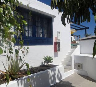 Aufgang zu unserem Appartement Bungalows & Appartements Playamar