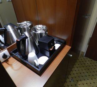Tee und Kaffee auf dem Zimmer Hotel Courtyard by Marriott München City Center