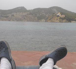 Meine tägliche Ruheposition Olimarotel Gran Camp de Mar