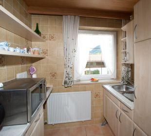 Küche in Ferienwohnungen Padua und Kettemann Gästehaus Hotel Garni Zibert