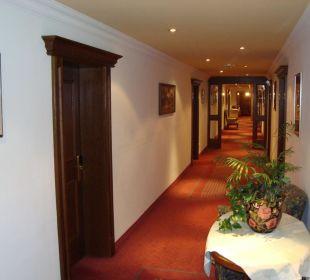 Chodba v hotelu Hotel Post