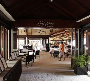 Eingang zum Lily Maa Restaurant Lily Beach Resort & Spa