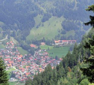 Blick auf  Bad Oberdorf und das Hotel Hotel Prinz - Luitpold - Bad