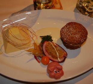 Auch wenn es nach 4 Gängen nicht mehr geht... Alpin & Relax Hotel Das Gerstl