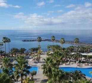 Vom 6. Stock  Hotel Riu Palace Tenerife