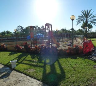 Gartenanlge mit Spielplatz  Dunas Suites&Villas Resort
