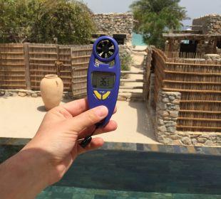 36.7 Grad Celsius Six Senses Spa At Zighy Bay