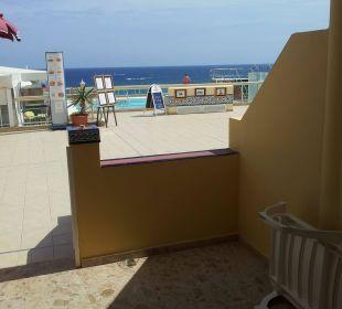 Blick von unserem Balkon aus Hotel Atlantic Beach Club