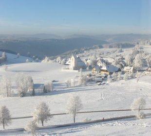Saig im Winter Hotel Ochsen
