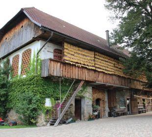 Alte Scheune mit Hasenstall Bauernhof Liendl