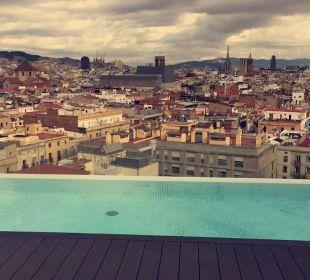 Dachterrasse Hotel Andante